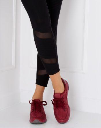 Pantofi de sport culoarea roşu 126801