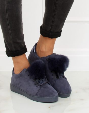 Pantofi de sport culoarea Bleumarin 127916