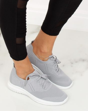 Pantofi de sport culoarea gri 128003