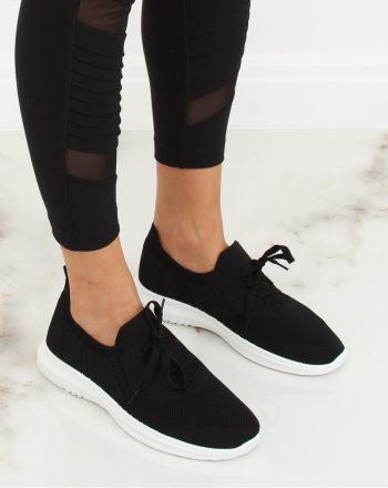 Pantofi de sport culoarea negru 128004
