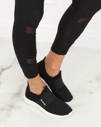 Pantofi de sport culoarea negru 128009