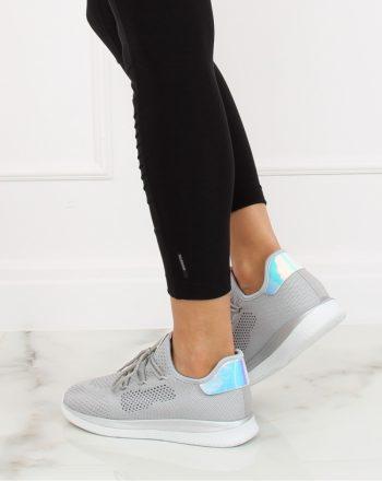 Pantofi de sport culoarea gri 128022