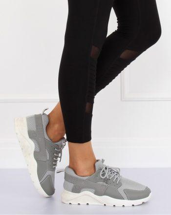 Pantofi de sport culoarea gri 128077