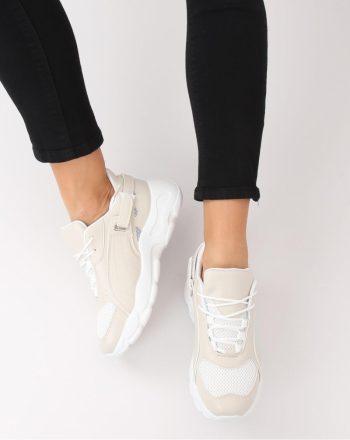 Pantofi de sport culoarea bej 129548