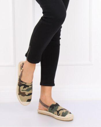 Sandale culoarea verde 129884