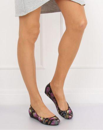 Pantofi de silicon /plastic culoarea negru 131330
