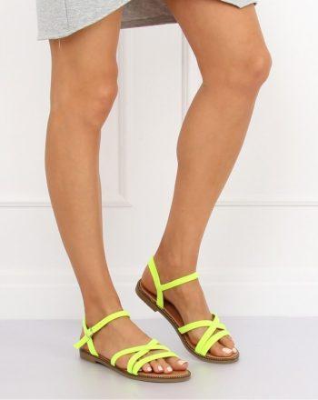 Sandale culoarea galben 132649