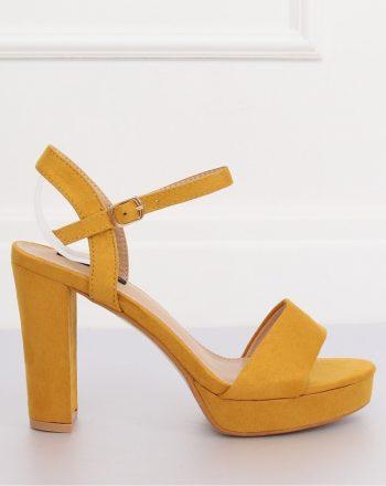 Sandale culoarea galben 132848
