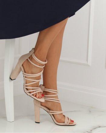 Sandale culoarea bej 133106