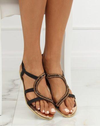 Sandale culoarea negru 133466
