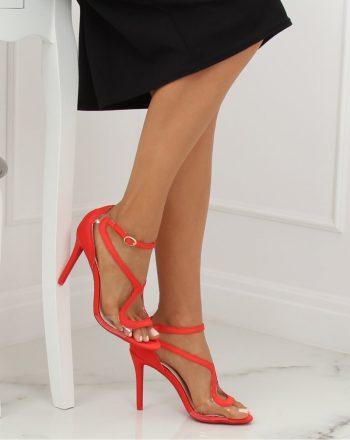 Sandale culoarea roşu 133467