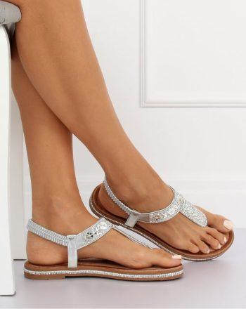 ~Sandały culoarea gri 134261