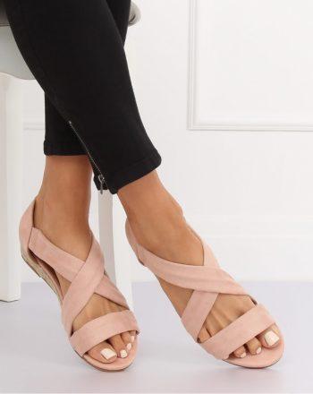 ~Sandały culoarea roz 134304