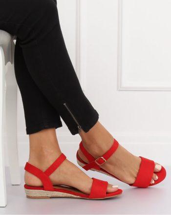 ~Sandały culoarea roşu 134312