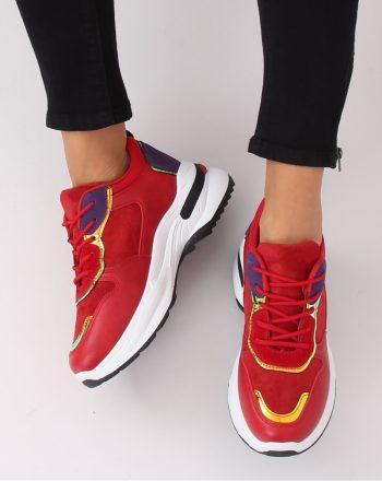 Pantofi de sport culoarea roşu 135139
