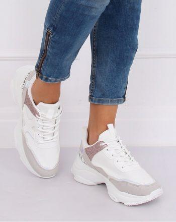Pantofi de sport culoarea alb 135143