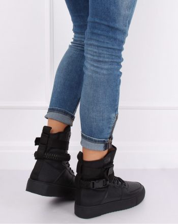 Pantofi de sport culoarea negru 135403