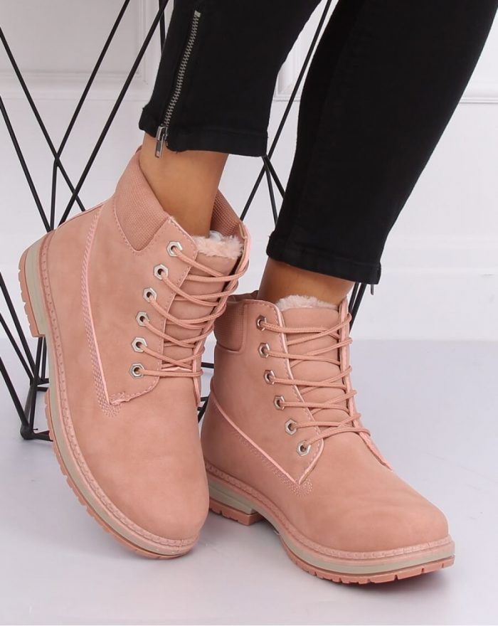 Bocanci culoarea roz 135825