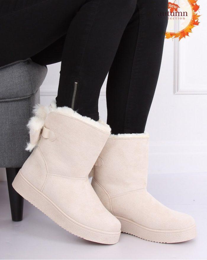 Moon boots culoarea bej 137304