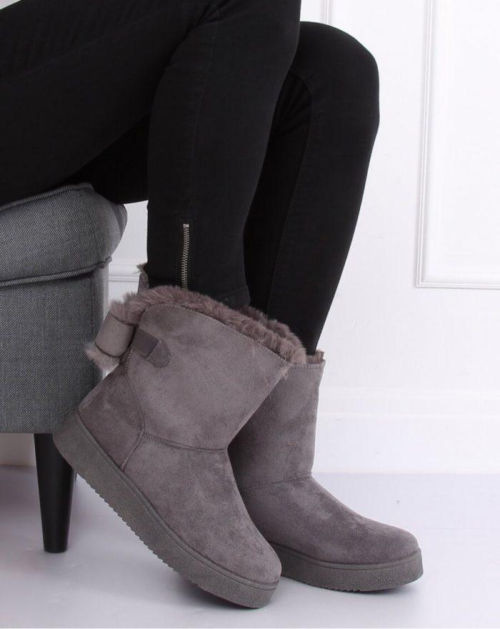 Moon boots culoarea gri 137305