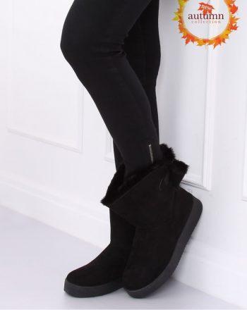 Moon boots culoarea negru 137306