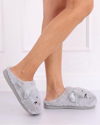 Papuci culoarea gri 137466
