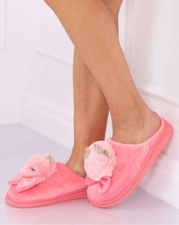 Papuci culoarea roz 137474