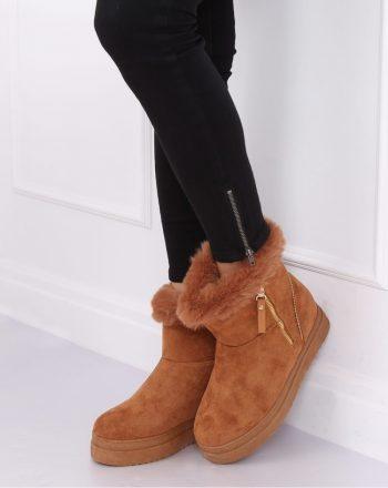 Moon boots culoarea maro 138341