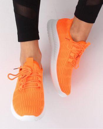 Pantofi de sport culoarea portocaliu 141127