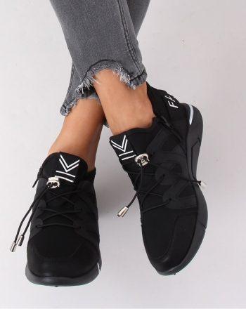 ~Buty sportowe culoarea negru 141430