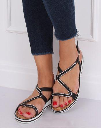 Sandale culoarea negru 143292