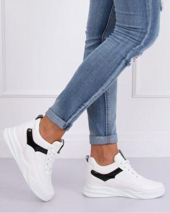 Pantofi de sport culoarea alb 143499