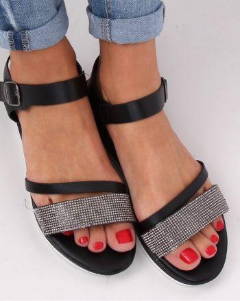 Sandale culoarea negru 143513