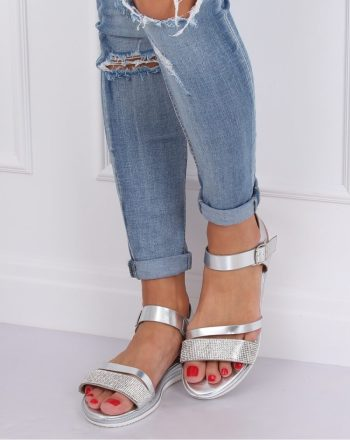 Sandale culoarea gri 143514